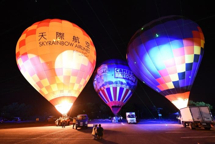 熱氣球升空安排